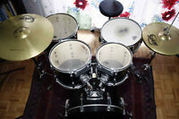 Pearl ELX Export Series drum kit+Sonor Snare+Cymbals+Hardware