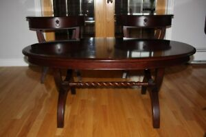 Coffee table and 2 Side/End tables