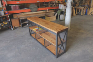 Custom Modern Industrial Style Furniture