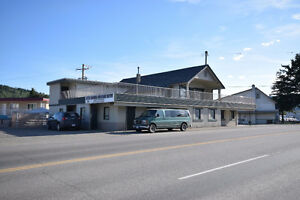 Commercial building - 490 Carson Ave Quesnel BC