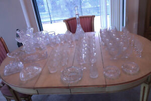 Lot de Cristal/ High Quality Crystal Set Vintage