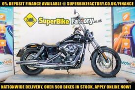 2012 62 HARLEY-DAVIDSON DYNA FXDB STREET BOB 1585 0% DEPOSIT FINANCE AVAILABLE