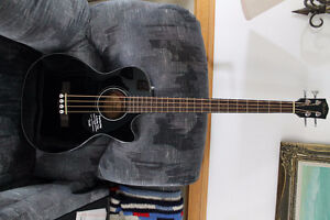 Fender Acoustic / Electric Bass Guitar