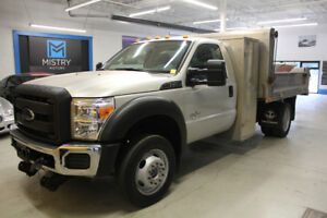 2012 Ford F-550 Aluminum Dump LOW KMS call 905-270-0310