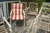 8 Piece Patio Table and Chairs