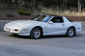 1991 FIREBIRD, T-Roof, Manual 5 Speed, 305 V8,  EXCELLENT