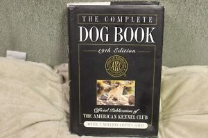 THE COMPLET E DOG BOOK  19 EDITION   AKC