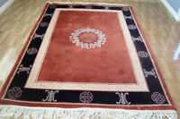 HANDMADE ALL WOOL CHINESE AREA RUG