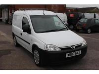 2007 Vauxhall Combo 2000 1.3CDTi 16V Van Diesel white Manual