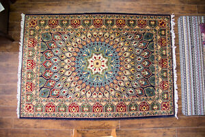 Hand Knotted Persian Rug - 4 x 6