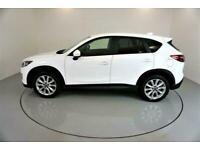 2014 WHITE MAZDA CX-5 2.2 D SPORT NAV DIESEL AUTO ESTATE CAR FINANCE FR £241 PCM