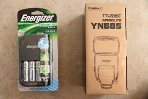Yongnuo YN685 and Energizer rechargeable battery
