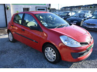 Renault Clio 1.4 16v 98 Expression 2006MY 5 DOOR RED+BARGAIN