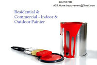 Residential & Commercial - Indoor & Outdoor Painter   Call today