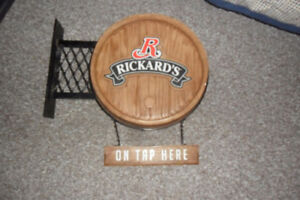 Rickards  bar sign