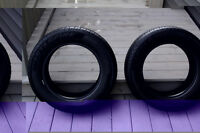 Two (2) Tires 195 65 15 Like NEW