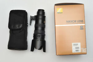 Nikon 70-200mm zoom - lens AF-S VR  f/2.8G IF-ED