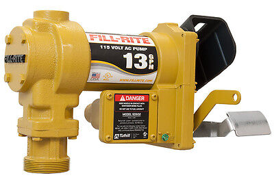 Tuthill Fill Rite Sd602g 115 V Ac Fuel Transfer Pump Dieselgas Approved
