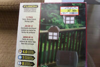 Brand New Solar Mini Lantern set with 12 led lights/solar panel