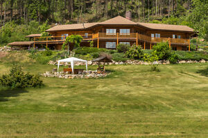 150 Cooper Road, Lumby - Outstanding Country Estate on 84 acres