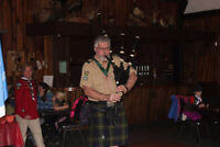 Bagpiping services