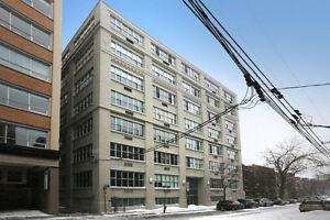 Magnifique Loft New Yorkais avec 1 chambre au coeur du Plateau (