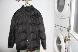 MEN'S EXTRA LARGE FAHRENHEIT LONG WINTER JACKET BLACK