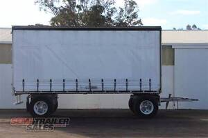 Alcan Tandem Axle Dog Curtainsider Semi Trailer Lockwood Bendigo City Preview