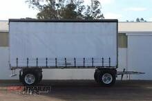 Alcan Tandem Axle Dog Curtainsider Semi Trailer Lockwood Bendigo City Preview
