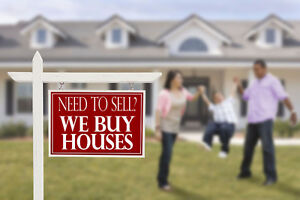 NEED TO SELL? WE BUY HOUSES