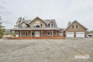 Custom Built Barnhartvale Home on Over 8 Acres
