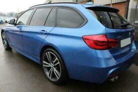 2016 BLUE BMW 320D TOURING 2.0 XDRIVE M SPORT DIESEL AUTO CAR FINANCE FR £257PCM