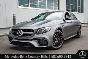 2019 Mercedes Benz E63 AMG S 4MATIC+ Sedan