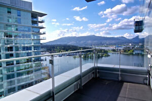ULTRA LUXURY FURNISHED - waterfront residence in Coal Harbour