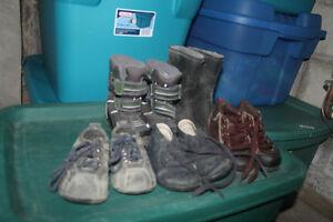 boys footwear size 6