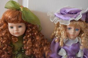 Beautiful Porcelain Dolls- 9 Dolls Total and Various Sizes Oakville / Halton Region Toronto (GTA) image 5