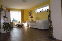 Bright & furnished bedroom at the border of Elora & Fergus