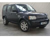 2010 10 LAND ROVER DISCOVERY 3.0 4 TDV6 GS 5D AUTO 245 BHP DIESEL