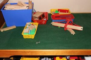 Brio Train set and table and Thomas Train