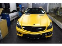 3d Yellow High Quality multi purpose all sizes vinyl wrap sheets