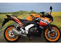 Honda CBR125R **Repsol Replica, Tank Pad, Learner Legal**