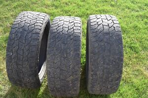 3 Cooper AT3 All Terrain M+S Truck tires 275/55R20