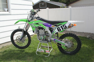 Fall special mint 2016 Kxf 450 with tons of extras.