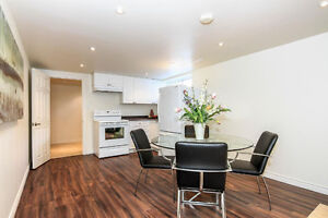 Newly renovated open concept 1 bedroom+den+full kitchen