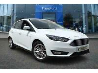 2018 Ford Focus 1.0 EcoBoost 125 Zetec Edition 5dr with Satellite Navigation and