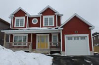 2 storey with attached garage