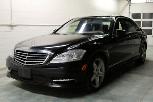 2010 Mercedes Benz S550 4Matic AWD Drive P2 NAV Nightvision Pano