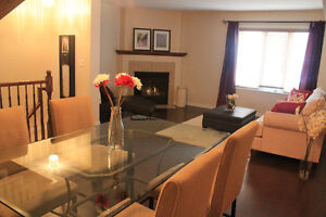 3 BR FURNISHED townhouse, KANATA, all-inclusive, April 1st