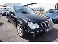 Mercedes C Class C 220 CDI AVANTGARDE SE (black) 2006