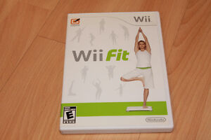 Wii Fit game (Wii Fit Board required, not included)